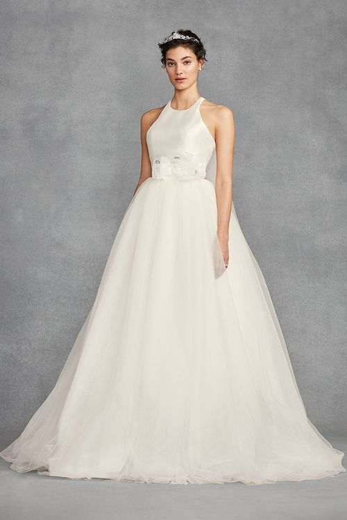 White by Vera Wang VW351419, David's Bridal