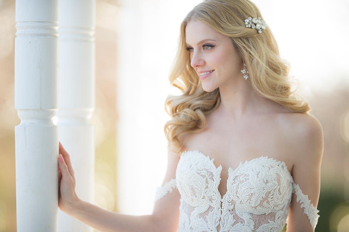 7bce85396de 1012 Flared cut   Fit-n-Flare Wedding Dress by Martina Liana -  WeddingWire.com