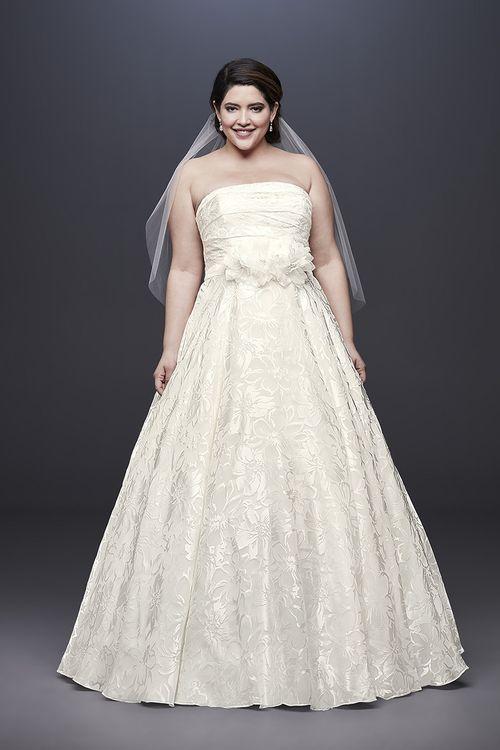 David's Bridal Style 9NTWG3907, David's Bridal