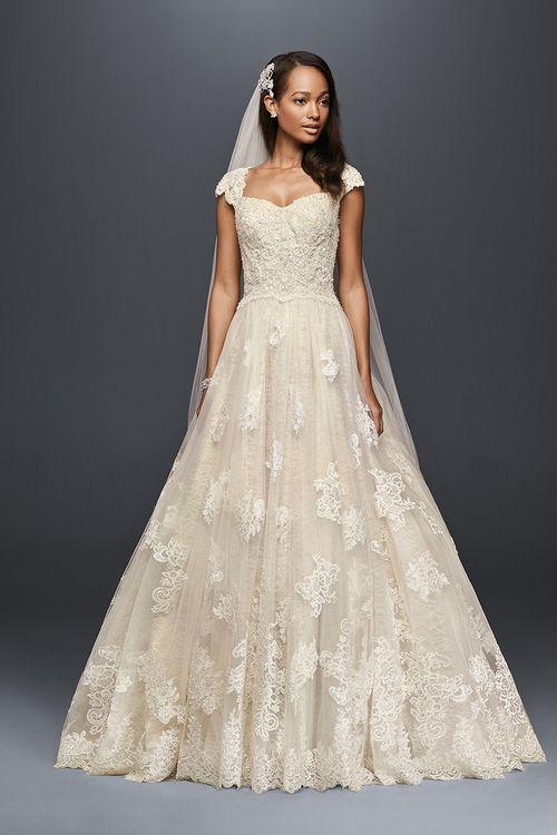 Oleg Cassini Style CWG768, David's Bridal
