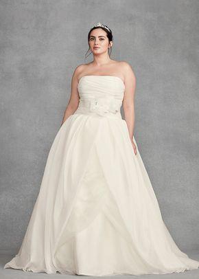 White by Vera Wang Style VW351178 SS, David's Bridal