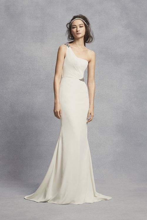 White by Vera Wang Style VW351434, David's Bridal