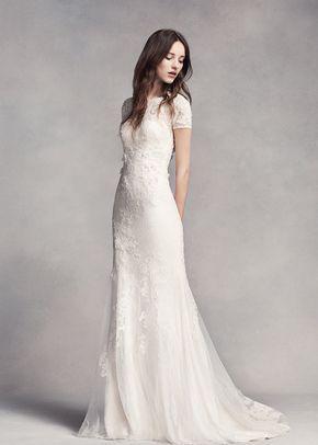 White by Vera Wang Style VW351312, David's Bridal