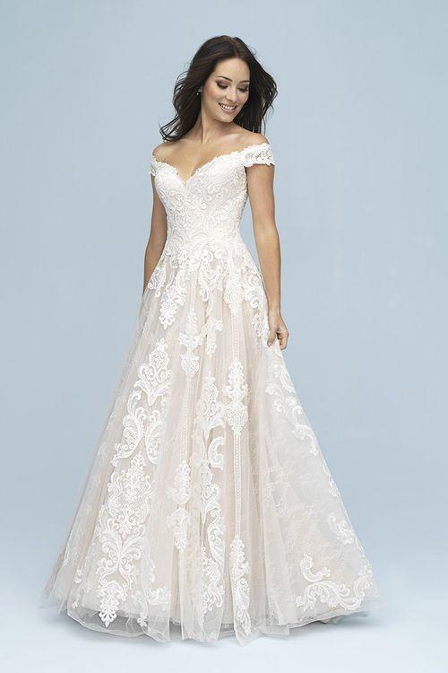 9619, Allure Bridals