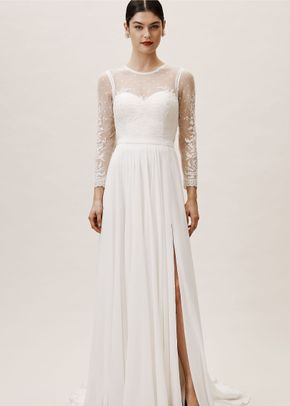 BHLDN Leanna Bodysuit & Atwell Skirt, BHLDN