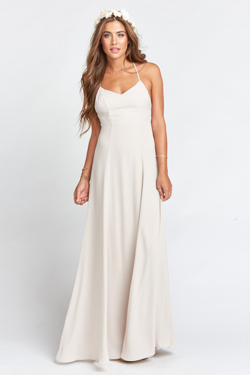 2f5a34bc0c88d Godshaw Goddess Gown - Show Me the Ring Crisp A-line Bridesmaid Dress by  Show Me Your Mumu - WeddingWire.com