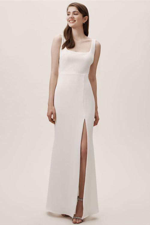 Adena Dress - Ivory, BHLDN