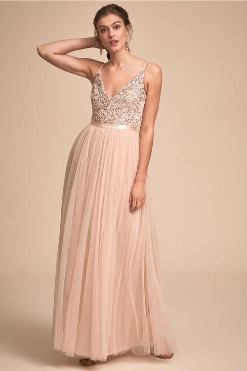 Avery Dress - Oyster, BHLDN Bridesmaids