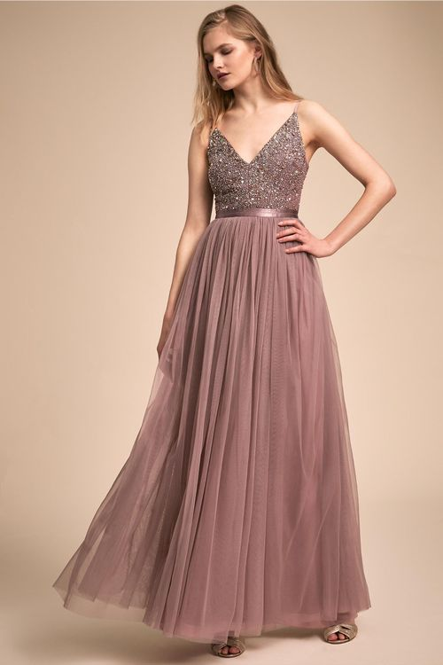 Avery Dress - Violet Grey, BHLDN Bridesmaids