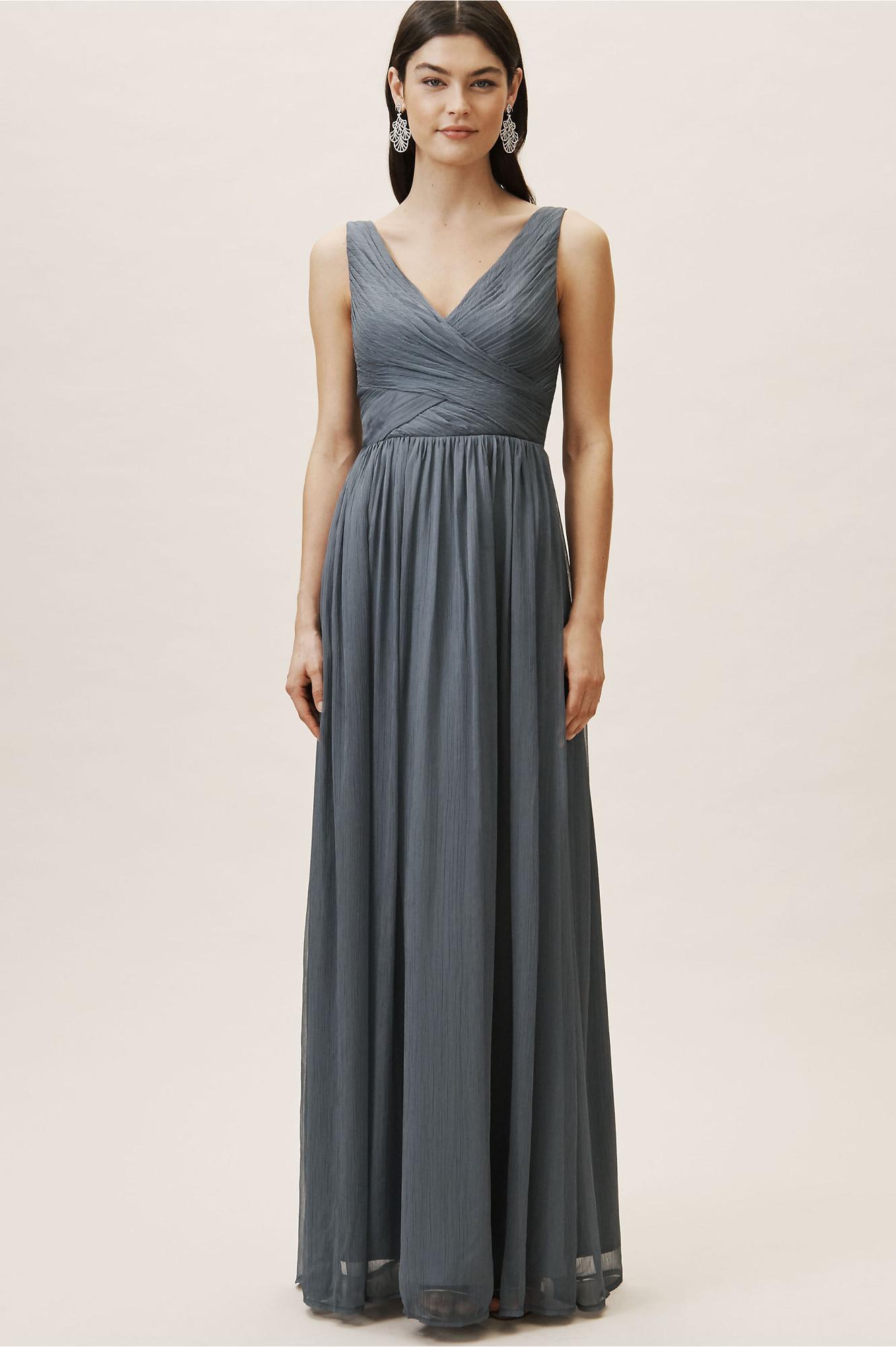 106464af2c982 Kia Dress - Hydrangea Sheath Bridesmaid Dress by BHLDN Bridesmaids ...