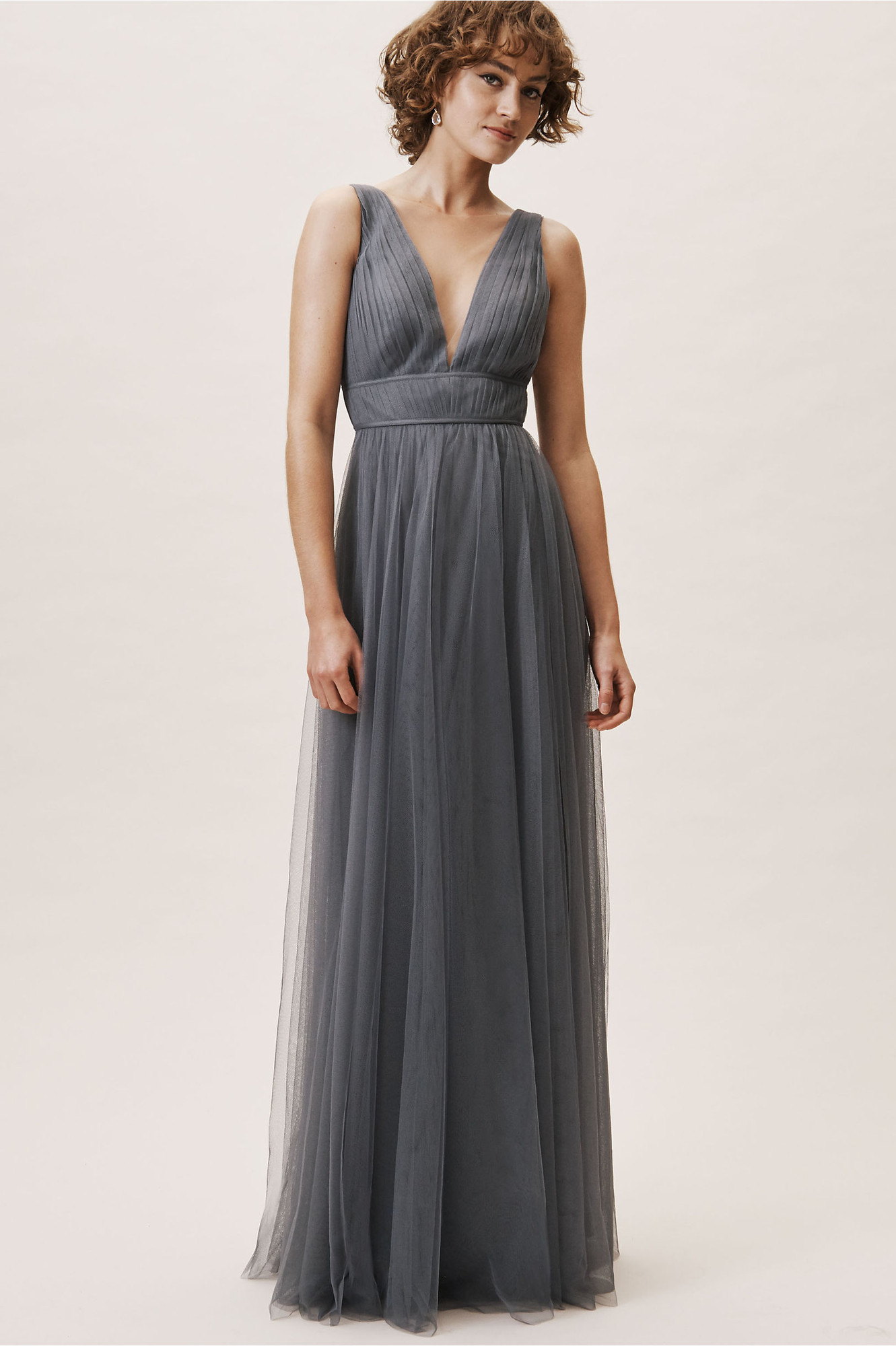 bf8df7a85d796 Sarita Dress - Hydrangea A-line Bridesmaid Dress by BHLDN ...