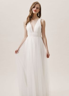 Sarita Dress - Ivory, BHLDN Bridesmaids