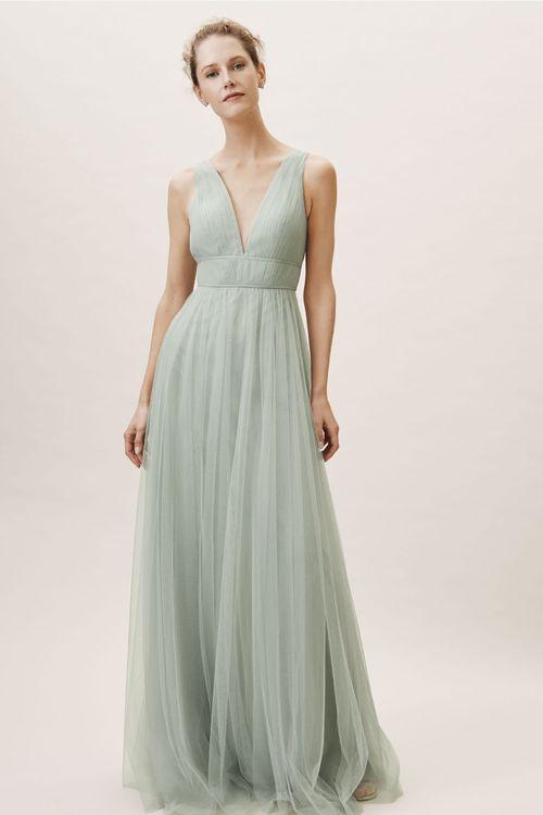 Sarita Dress - Morning Mist, BHLDN Bridesmaids