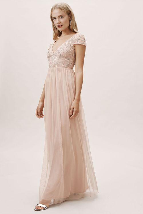Diaz Dress - Blush, BHLDN Bridesmaids