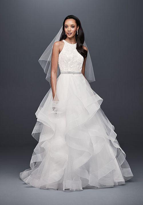 David's Bridal Style V3901, David's Bridal