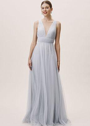 Sarita Dress - Whisper Blue, BHLDN Bridesmaids