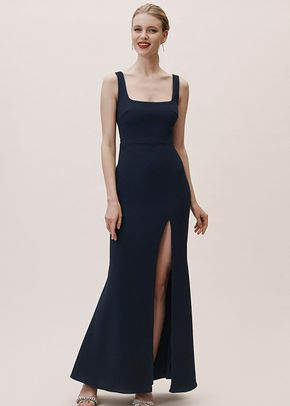 Adena Dress - Midnight, BHLDN Bridesmaids