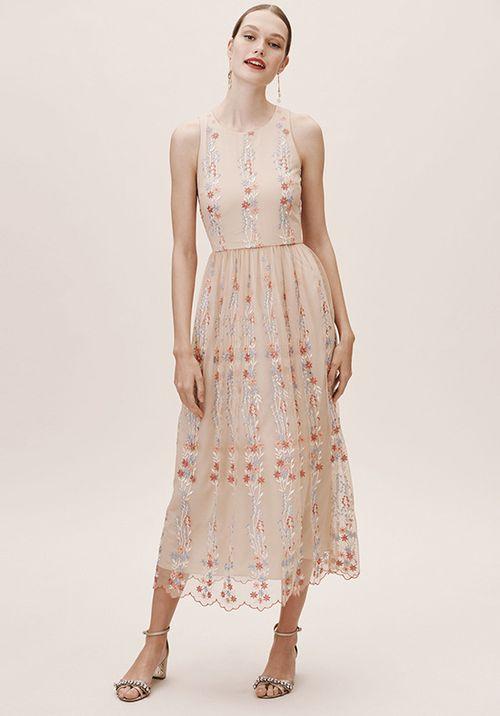 Parsons Dress - Blush, BHLDN Bridesmaids