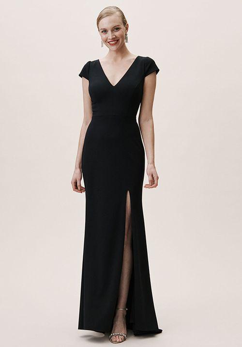Ara Dress - Black, BHLDN Bridesmaids