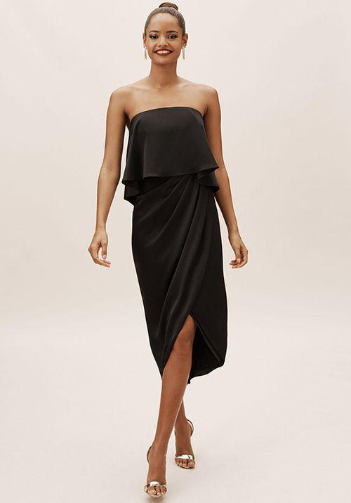 Kelli Dress - Black, BHLDN Bridesmaids
