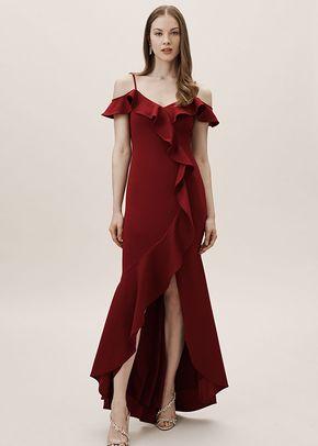 Lafayette Dress - Bordeaux, BHLDN Bridesmaids