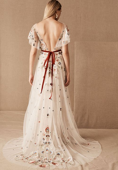Heartleaf Gown (Multi), BHLDN