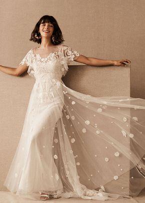 Heartleaf Gown (Ivory), BHLDN