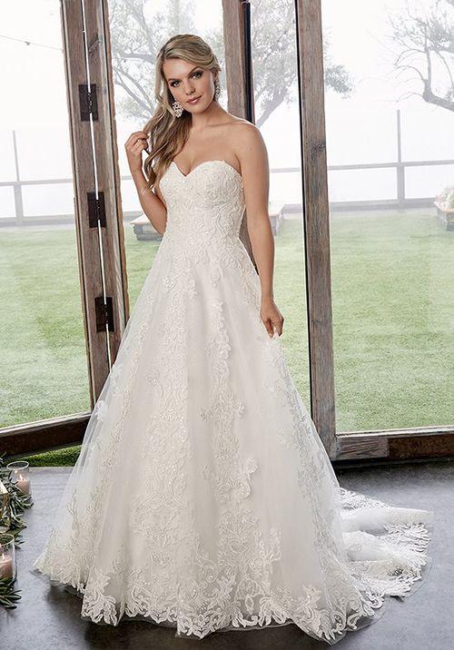 Style 2418 Caroline, Casablanca Bridal