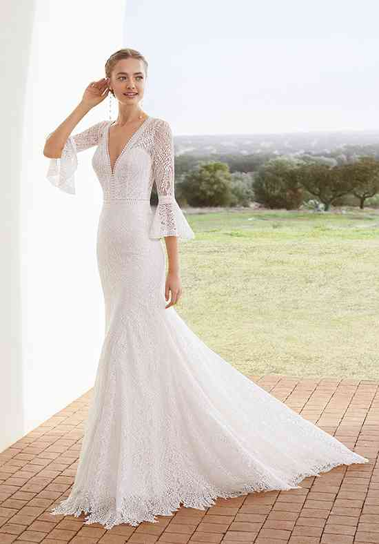 Aurel Mermaid Wedding Dress By Rosa Clará Weddingwire Com