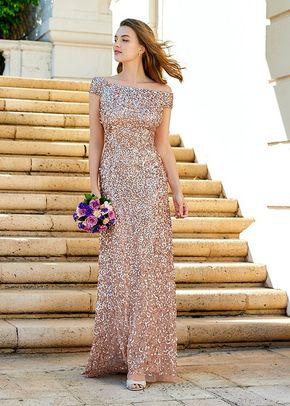 Bridesmaid Dresses Adrianna Papell Platinum Bridesmaid