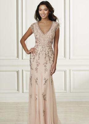 40160, Adrianna Papell Platinum Bridesmaid