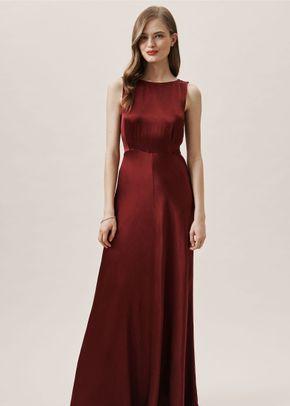 Alexia Dress - Bordeaux, BHLDN Bridesmaids