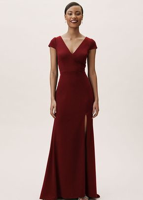 Adena Dress - Dark Emerald, BHLDN Bridesmaids