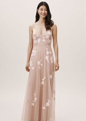 Bethany Dress - Blush, BHLDN Bridesmaids