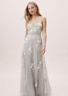 Bethany Dress - Fog, BHLDN Bridesmaids
