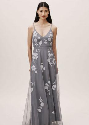 Alexia Dress - Navy, BHLDN Bridesmaids