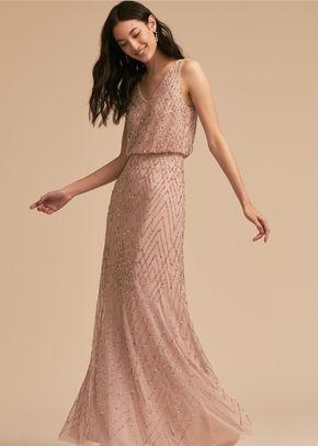 Blaise Dress - Sandstone/Blush, BHLDN Bridesmaids
