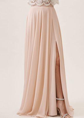 Chateau-Skirt - Blush, BHLDN Bridesmaids