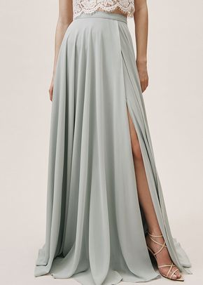 Chateau Skirt - Morning Mist, BHLDN Bridesmaids