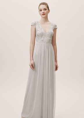 Diaz Dress - Fog, BHLDN Bridesmaids