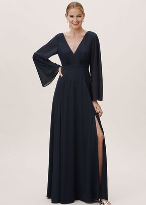 Doria Dress - Midnight, BHLDN Bridesmaids