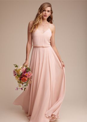 Inesse Dress - Blush, BHLDN Bridesmaids