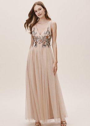 Idris Dress - Champagne, BHLDN Bridesmaids