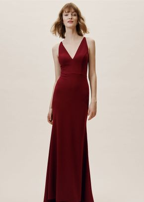 Jones Dress - Bordeaux, BHLDN Bridesmaids