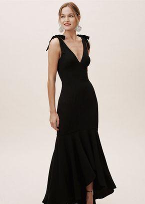 Julia Dress - Black, BHLDN Bridesmaids