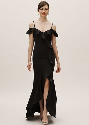 Lafayette Dress - Black, BHLDN Bridesmaids