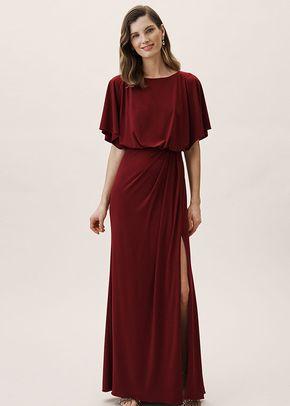 Lena Dress - Bordeux, BHLDN Bridesmaids