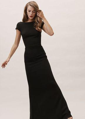 Madison Dress - Black, BHLDN Bridesmaids