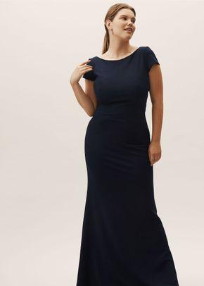 Madison Dress - Navy, BHLDN Bridesmaids