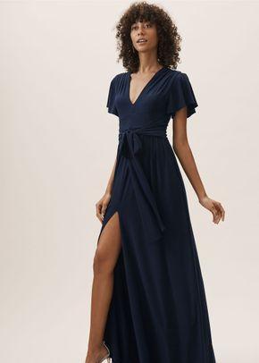 Mendoza Dress - Navy, BHLDN Bridesmaids
